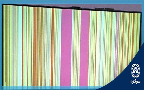 خرابی صفحه نمایش تلویزیون