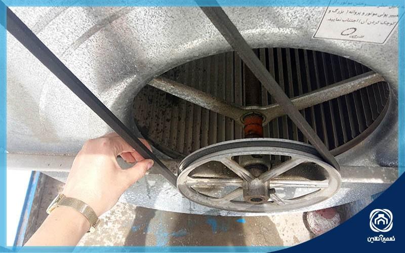 سوختن موتور کولر آبی
