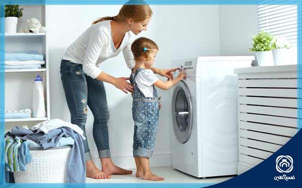 نحوه شستن حوله و پتو در ماشین لباسشویی