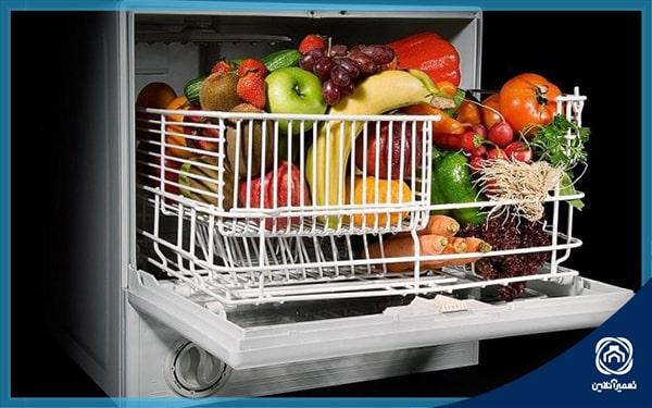 شستن میوه با ظرفشویی