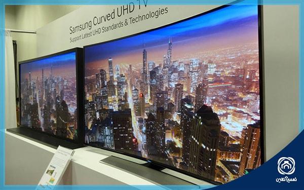 مقایسه تلویزیون های تخت و منحنی