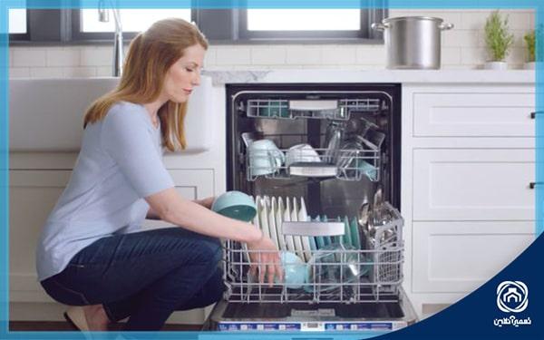 ارور E14 در ماشین ظرفشویی بوش