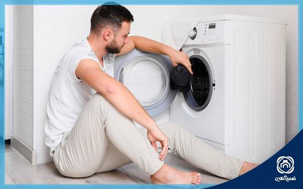 ماشین لباسشویی خراب