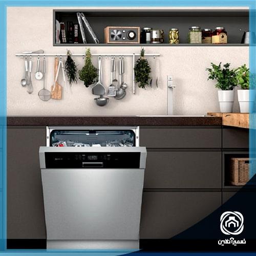 وصل کردن ظرفشویی به آب گرم
