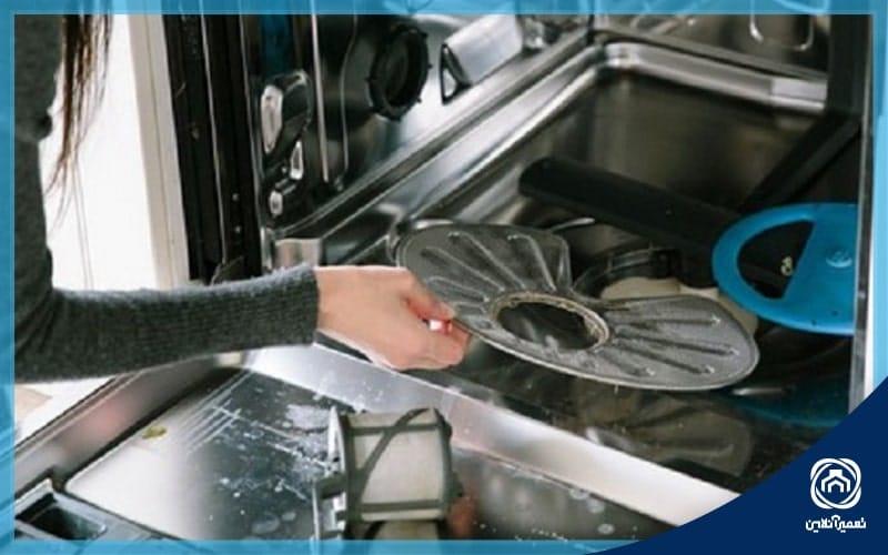 آسیب ماشین ظرفشویی