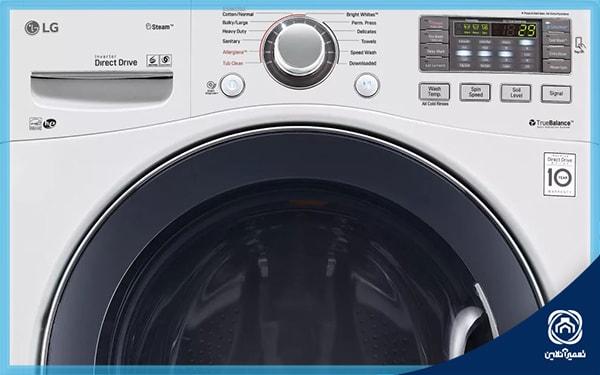 ارور oe در ماشین لباسشویی الجی