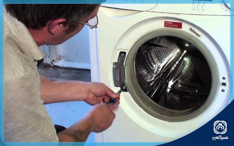 درب ماشین لباسشویی