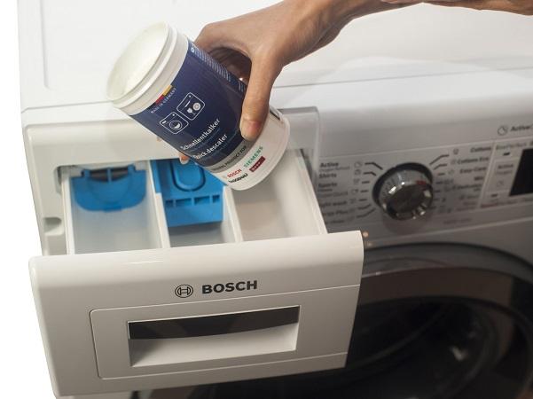 جرمگیری ماشین لباسشویی بوش