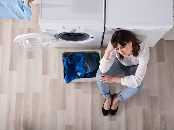 چرا آب ماشین لباسشویی تخلیه نمی شود