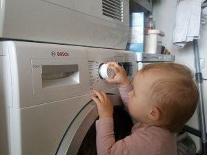 قفل کودک ماشین لباسشویی بوش