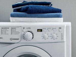 علل چشمک زدن چراغ های ماشین لباسشویی ایندزیت