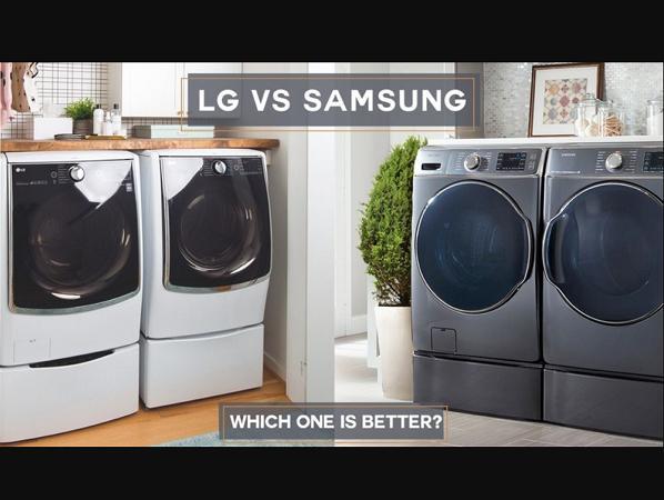 مقایسه لباسشویی سامسونگ و ال جی