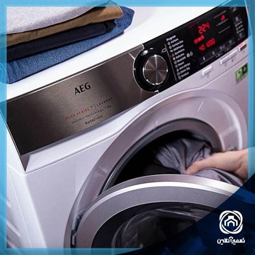معنی ارورE20 در ماشین لباسشویی AEG