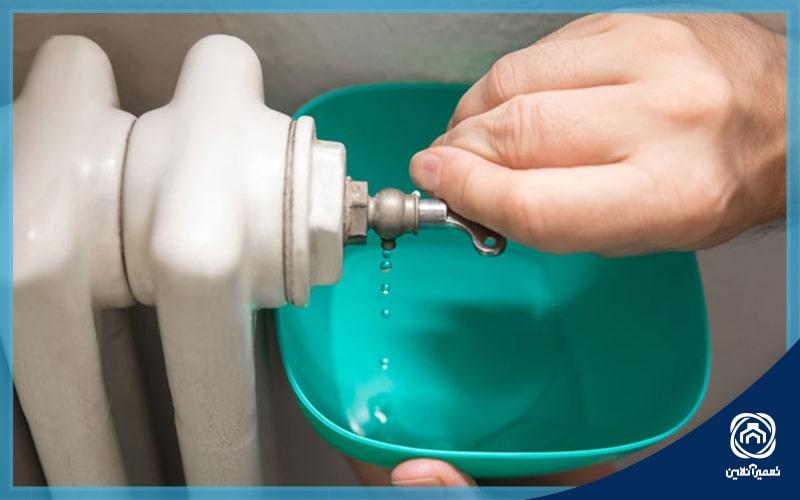 تنظیم فشار آب پکیج