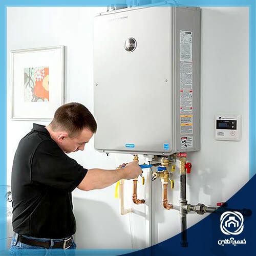 راهکار تنظیم فشار آب پکیج
