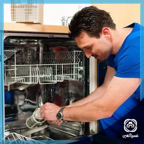 تعمیر برد ماشین ظرفشویی بوش