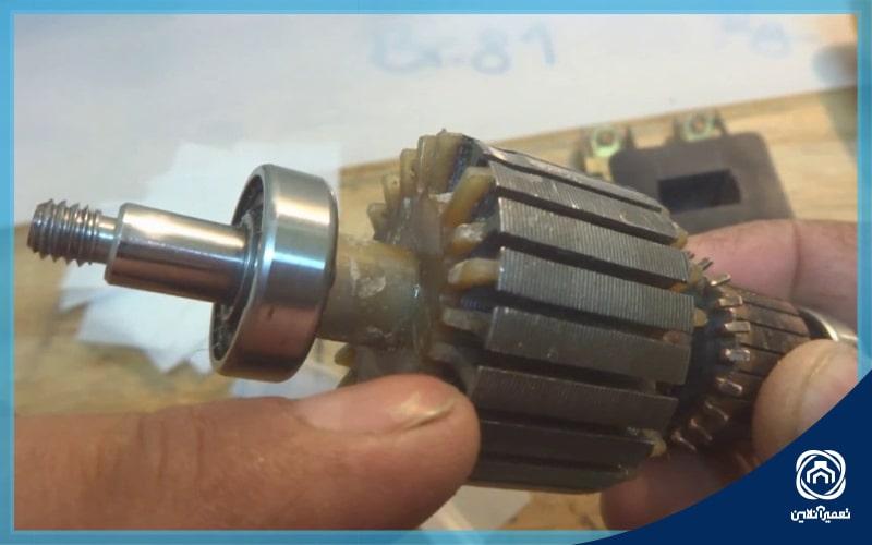 تعمیر موتور جاروبرقی