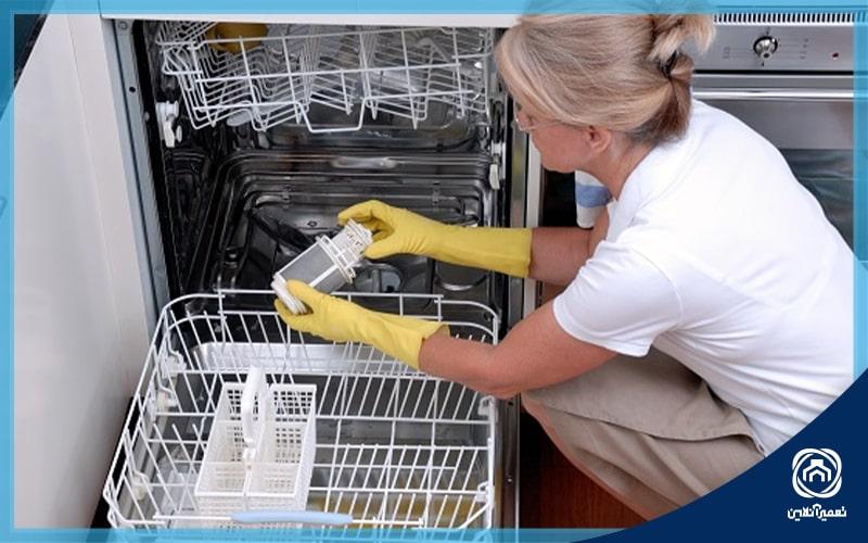 علت آبگیری نکردن ماشین ظرفشویی