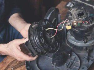 تعویض موتور جاروبرقی
