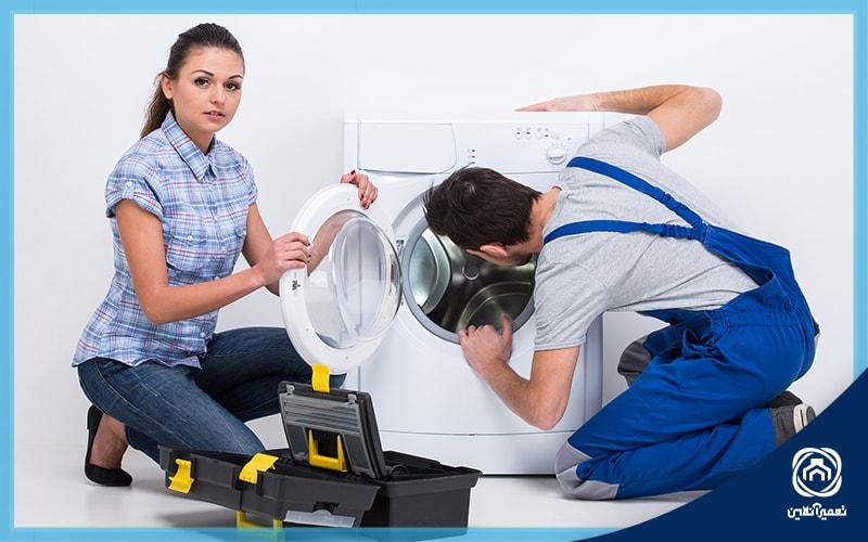 معنی ارور 8Eدر ماشین لباسشویی