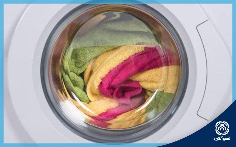 ارور dE لباسشویی ال جی