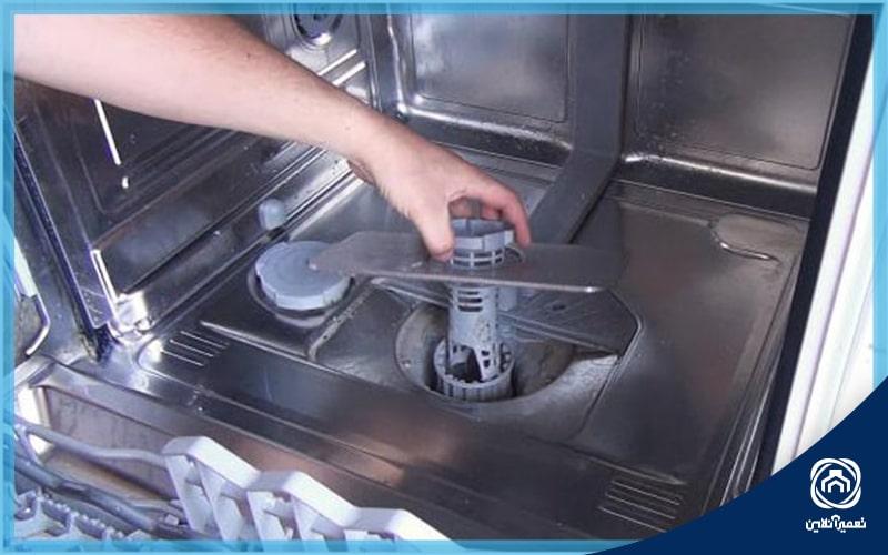 ارور E24 در ماشین ظرفشویی بوش
