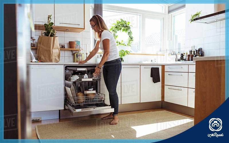 افزایش عمر مفید ماشین ظرفشویی