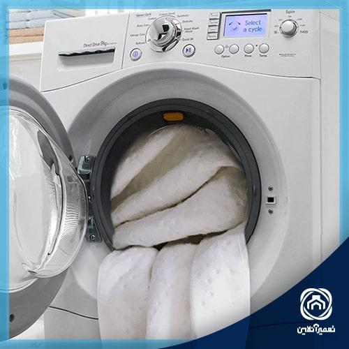 آموزش تراز کردن ماشین لباسشویی