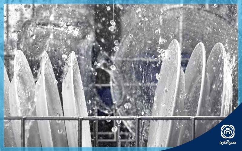 نحوه تنظیم سختی آب ماشین ظرفشویی