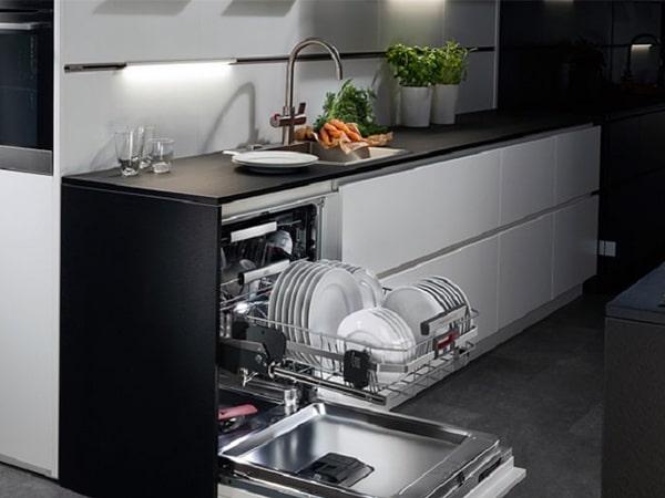 تنظیم سختی آب ماشین ظرفشویی