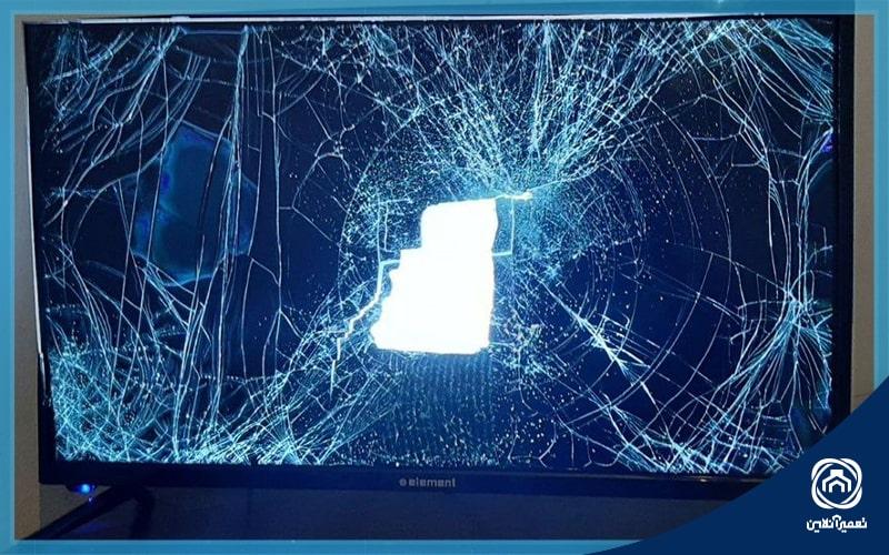 تعمیر ال ای دی شکسته تلویزیون