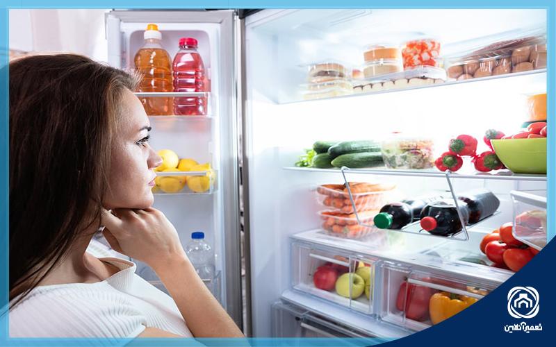 علت كار نکردن فن یخچال