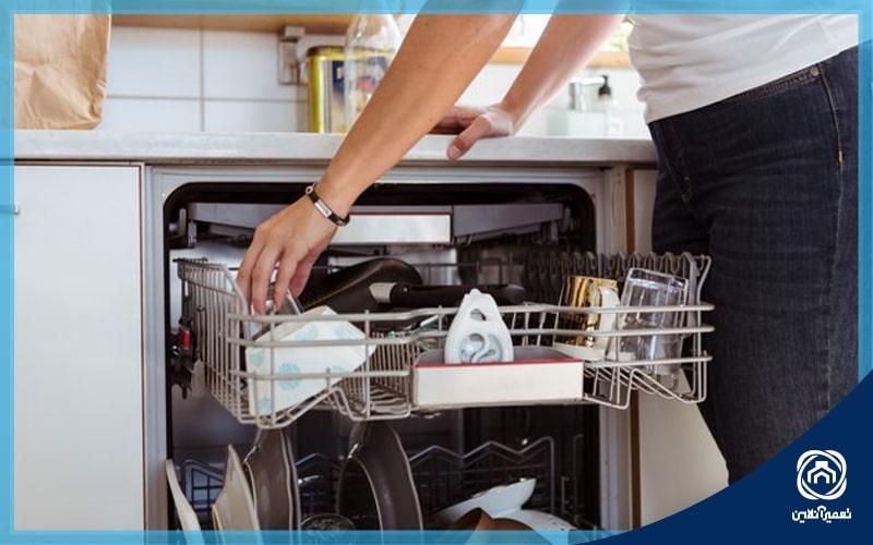 علت ارور e03 ظرفشویی