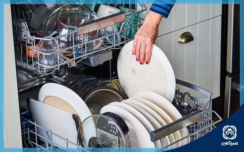 ارور e07 ماشین ظرفشویی بوش