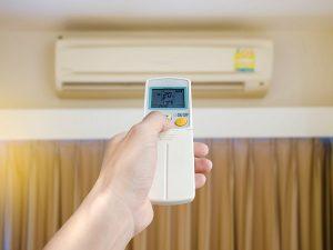 تنظیم باد گرم کولرگازی