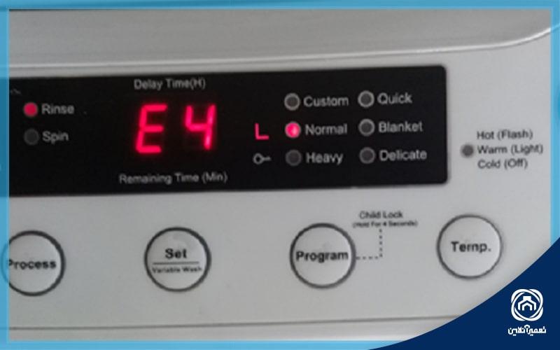 ارور ماشین ظرفشویی دوو