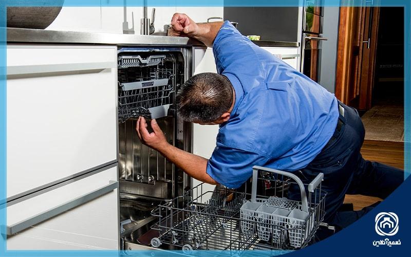 علت ارور E17 ظرفشویی بوش