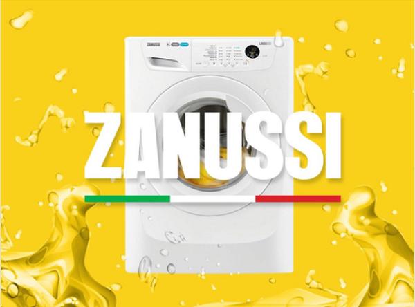 کد خطاهای ماشین لباسشویی زانوسی