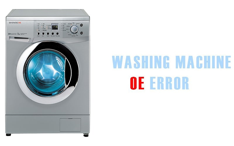 ارور OE ماشین لباسشویی دوو