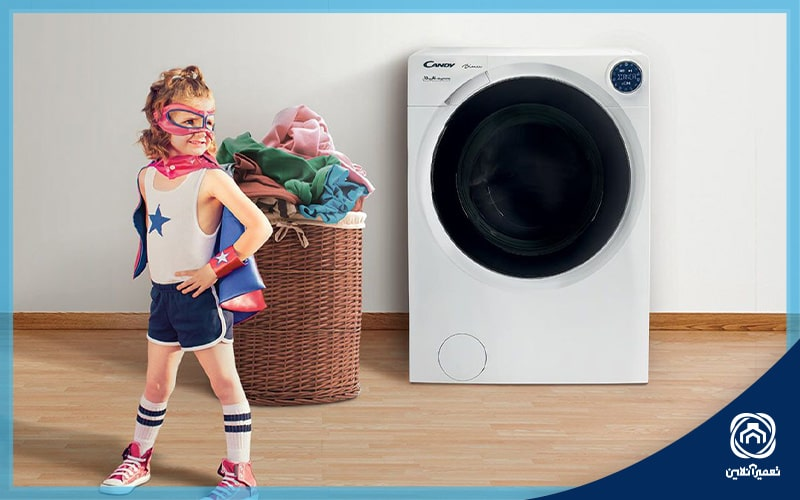 کد خطاهای ماشین لباسشویی کندی