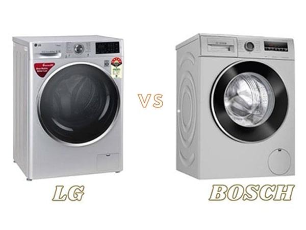 مقایسه لباسشویی بوش و ال جی