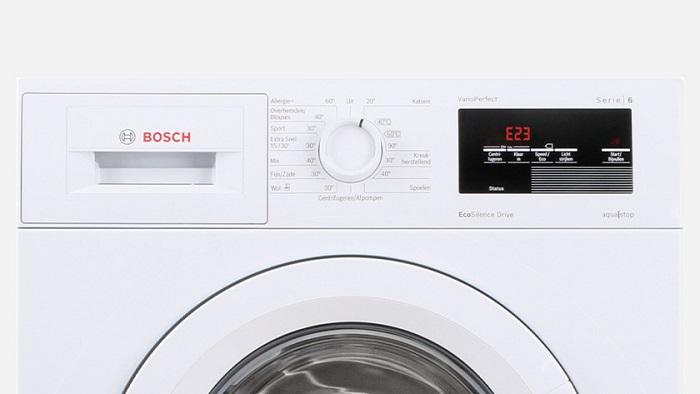 ارور لباسشویی بوش