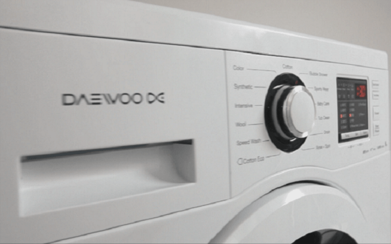 رفع ارور UE ماشین لباسشویی دوو