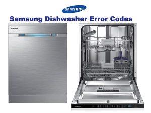 ارور ماشین ظرفشویی سامسونگ