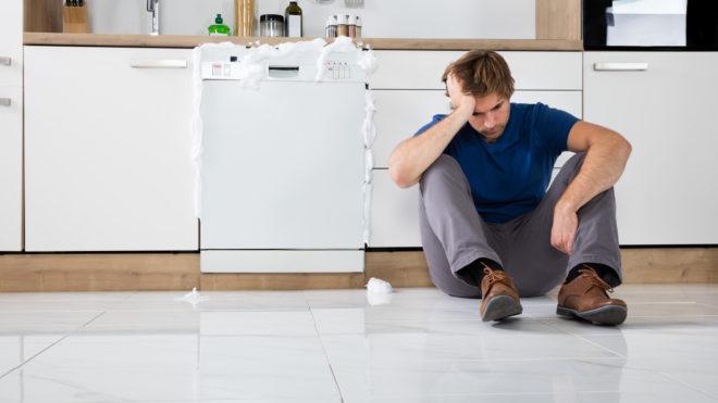 علت هر ارور ماشین ظرفشویی سامسونگ