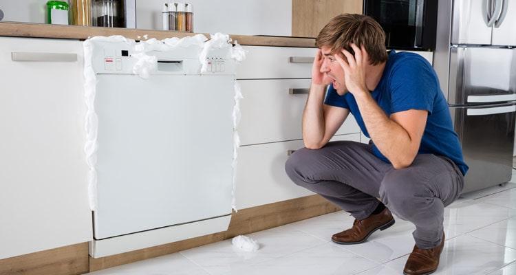 مشکلات رایج ماشین ظرفشویی سامسونگ