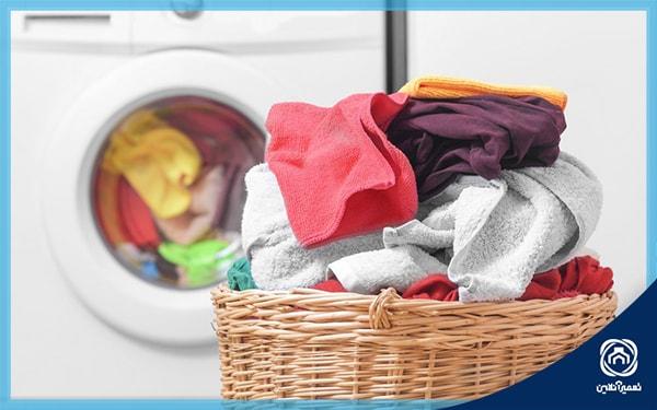 اشتباهات استفاده از ماشین لباسشویی