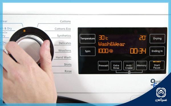 خاموش شدن ماشین لباسشویی