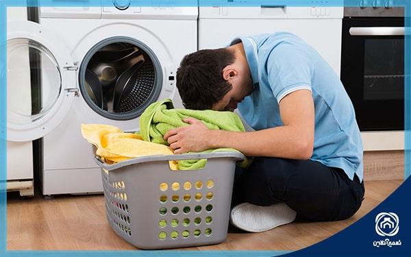 اشتباهات در استفاده از ماشین لباسشویی