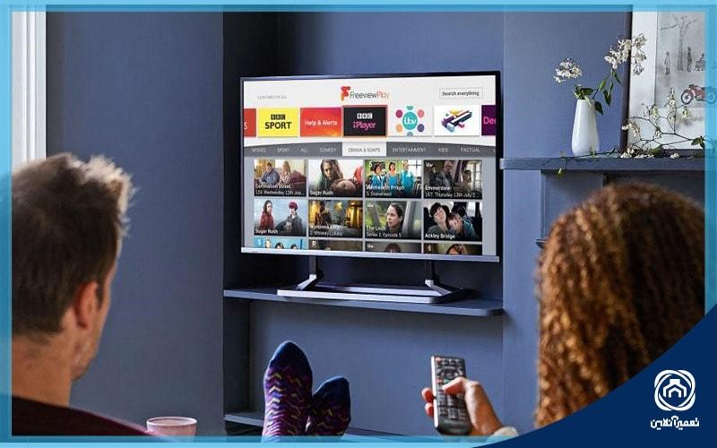 بهترین سایز تلویزیون